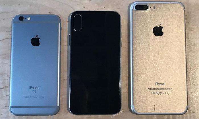 หลุดภาพ iPhone 8 แบบจัดเต็ม 360 องศา