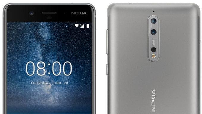 Nokia 8 จะมีกล้องหน้าความละเอียด 13 ล้านพิกเซล