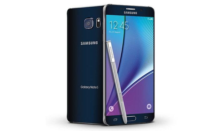 ลดหนักมา Samsung Galaxy Note 5 ความจุ 64GB เหลือเพียง 13,900 บาท