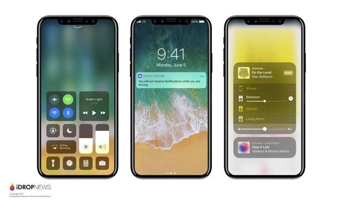 หลุดราคาของ iPhone 8 จาก Suppiler มีราคาเริ่มต้น 1,000 ดอลล่าร์สหรัฐ