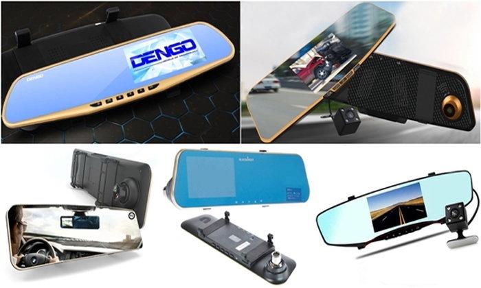 รวม 5 กล้องติดรถยนต์ทรงกระจกมองหลังรุ่นเด็ดที่คุ้มค่า น่าซื้อ ในราคาไม่เกิน 2,000 บาท