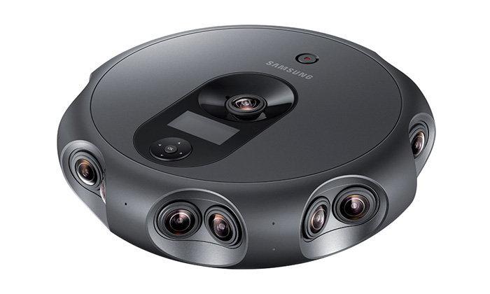 Samsung เปิดตัวกล้อง 360 องศา ที่มีเลนส์จำนวนทั้งหมด 17 ตัว ไร้พัดลม