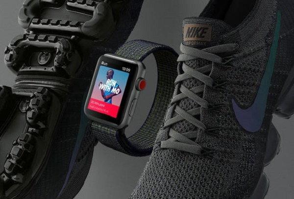 Nike วางจำหน่าย Apple Watch Series 3 LTE รุ่นพิเศษ Midnight Fog