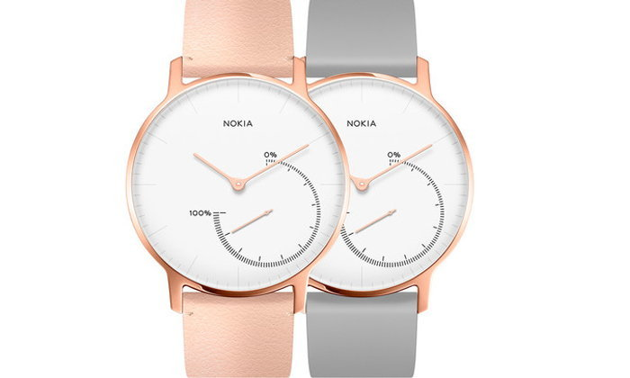 Nokia เริ่มจำหน่ายสมาร์ทวอทช์ Steel รุ่น Limited Edition : Rose Gold และ Full Black
