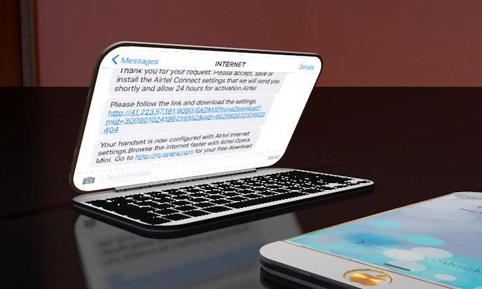 iPhone หน้าจอพับได้แบบ Samsung Galaxy X อาจจ่อเปิดตัวในอนาคต