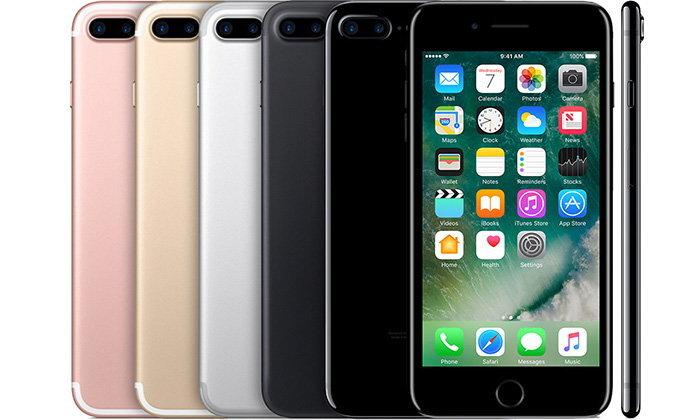 อัปเดทราคา iPhone7 และ iPhone 7 Plus ล่าสุดในเดือนธันวาคม 2560