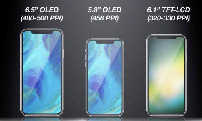 เผยสเปก iPhone 2018 รุ่นราคาถูกสุด จ่อมาพร้อมหน้าจอ LCD ขนาด 6.1 นิ้ว