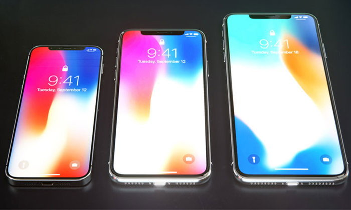 เผยสเปก iPhone 2018 ทั้ง 3 รุ่น คาด iPhone X รุ่นอัปเกรด และ iPhone X Plus มาพร้อม RAM 4 GB