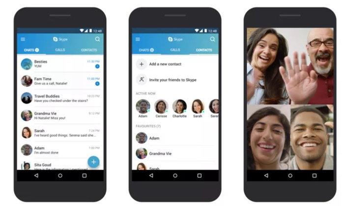 Microsoft ปรับปรุง Skype เพื่อให้สมาร์ทโฟนราคาถูกสามารถใช้งานได้ง่ายขึ้น