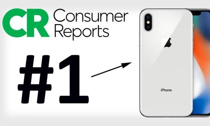 Consumer Reports ยก iPhone X สมาร์ทโฟนถ่ายรูปเจ๋งสุดในโลก