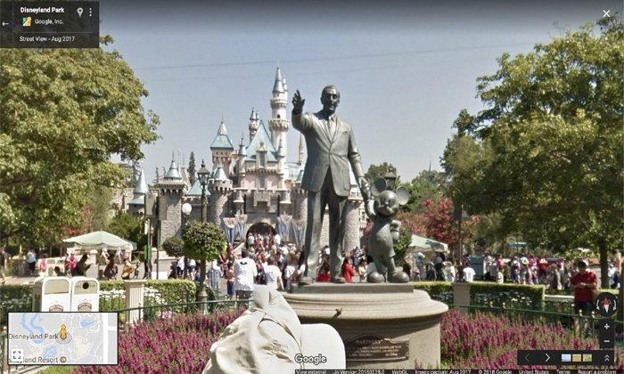 Google พาทัวร์!!! เที่ยว Disneyland ฟรี ผ่าน Street View