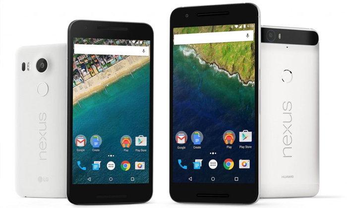 เสียใจด้วย Nexus 5X และ Nexus 6P คุณไม่ได้ไปต่อ