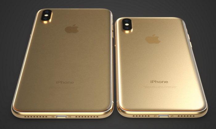 เผยภาพเรนเดอร์ iPhone X จอใหญ่เต็มขอบ 5.8 นิ้ว และ 6.5 นิ้ว สีทองสวยสะใจ