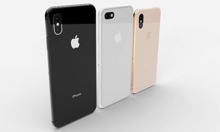 """ภาพคอนเซ็ปต์ iPhone 2018 จอ LCD 6.1"""" อัตราส่วน 18:9 มาพร้อมรอยแหว่งที่เล็กลง"""