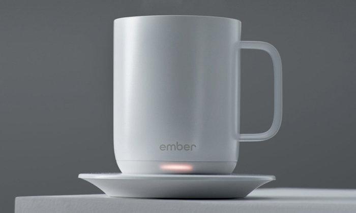 สุดเจ๋ง! แก้วกาแฟอัจฉริยะที่ช่วยควบคุมอุณหภูมิได้อย่างคงที่