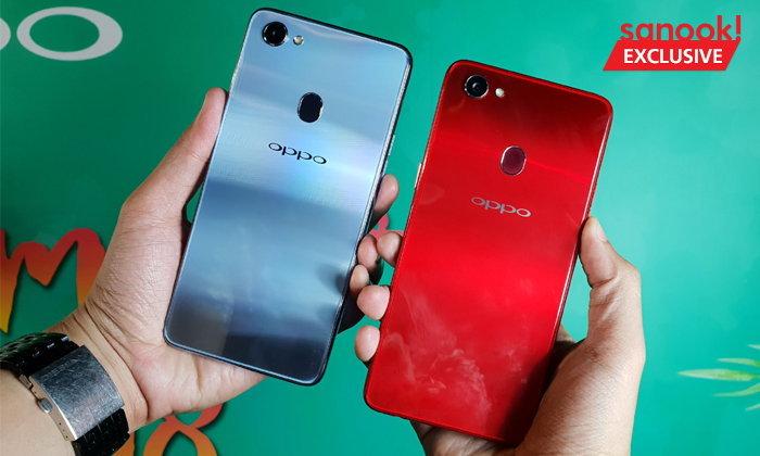 [Hands On] OPPO F7 สมาร์ทโฟนรุ่นใหม่ล่าสุด ตอกย้ำความเป็นผู้นำด้านเซลฟี่ด้วยกล้องหน้า 25 ล้านพิกเซล