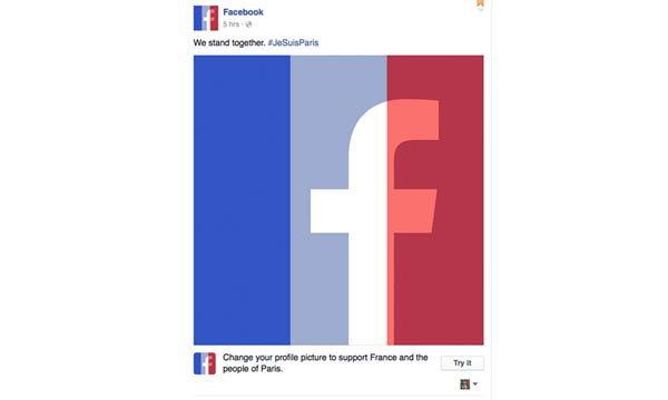 ชวนชาว Social เปลี่ยนรูป Profile ร่วมให้กำลังใจชาวปารีสกันเถอะ