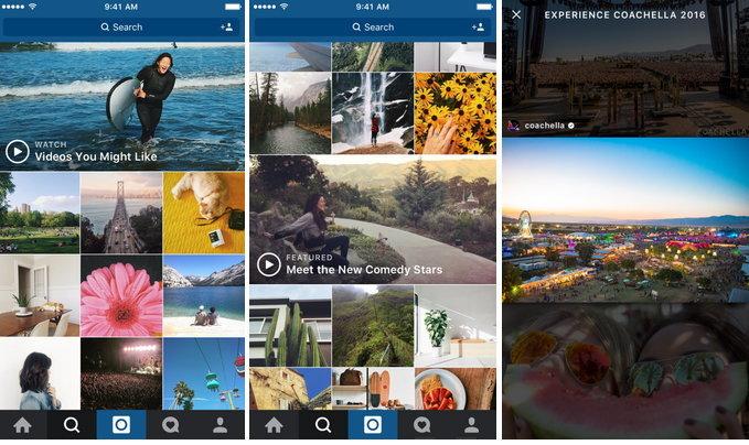 Instagram ปรับการแสดงผลวิดีโอในช่องค้นหาให้เด่นกว่าเดิม
