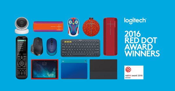 โลจิเทคสร้างสถิติใหม่ กวาดรางวัลสุดยอดการออกแบบ 'Red Dot 2016 Product Design Awards' สูงสุด 9 รางวัล