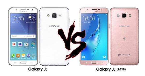 เปรียบเทียบ Samsung Galaxy J7 (2016) รุ่นอัปเกรดกับ Galaxy J7 รุ่นเก่าปี 2015 แบบชัดเจน