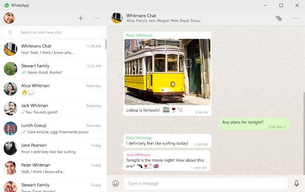 มาเล่น  WhatsApp บนเดสก์ทอปกัน