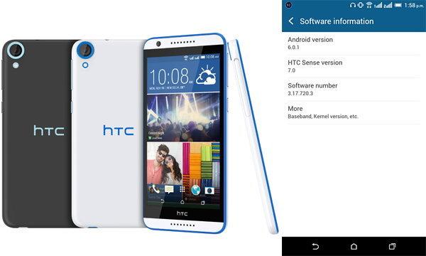 เอชทีซี ปล่อย Update Android 6.0.1 ให้กับ HTC Desire 820 แล้ววันนี้