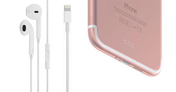 หลุดภาพหูฟัง EarPods ใหม่สำหรับ iPhone 7 เปลี่ยนแจ็คเสียบหูฟังเป็น Lightning Connector