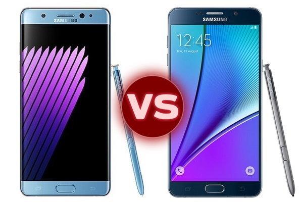 Samsung Galaxy Note 7 vs Galaxy Note 5 แตกต่างกันแค่ไหน อะไรที่ได้รับการพัฒนาต่อยอดบ้าง?