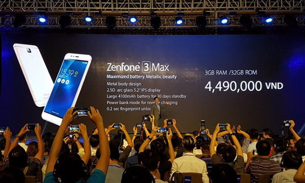 ASUS เคาะราคา ASUS Zenfone 3 Laser และ Zenfone 3 Max ในเวียดนามแล้ว