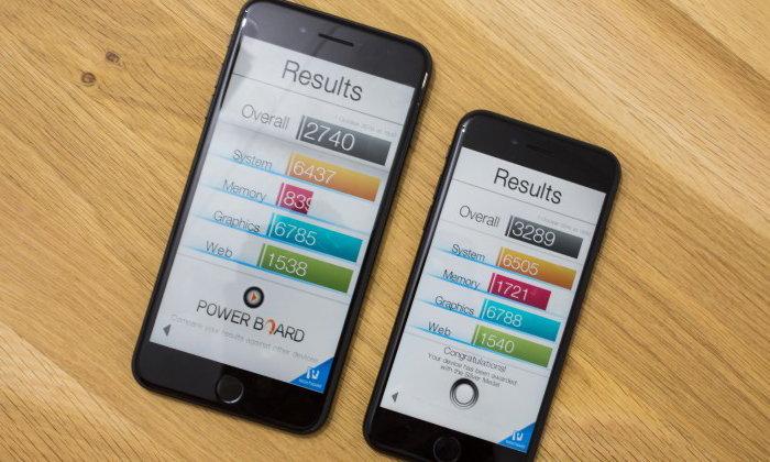 ผลการทดสอบ iPhone 7 Plus ขนาด 32GB ช้ากว่ารุ่น 128GB มาก