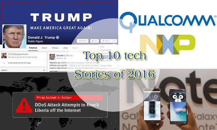 10 เหตุการณ์เด่น วงการไอทีโลก ประจำปี 2016