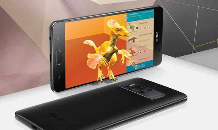 ASUS Zenfone AR มือถือรองรับเทคโนโลยี Google Tango และ DayDream เปิดตัวอย่างเป็นทางการ
