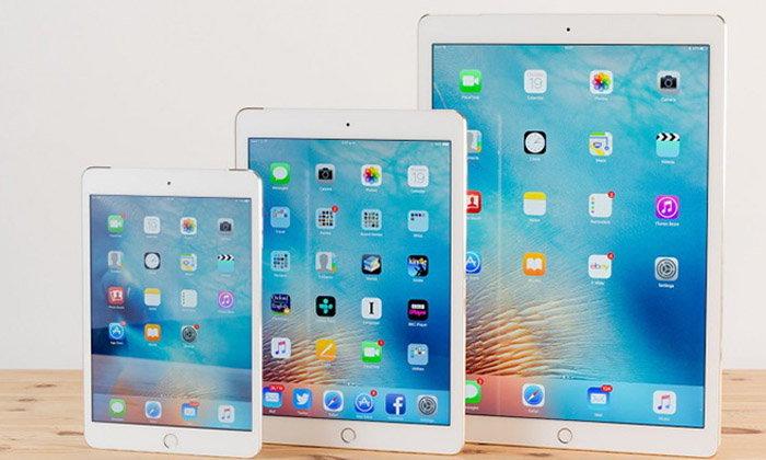 ไม่ยืนยัน iPad รุ่นปี 2017 จะเผยโฉมในช่วงไตรมาสที่ 2 หรือ 3 ของปีนี้