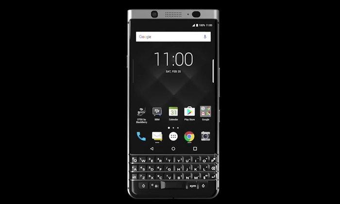 Blackberry เปิดลงทะเบียนความสนใจ KEYone มือถือเครื่องใหม่ในแคนนาดาและ สหรัฐอเมริกา