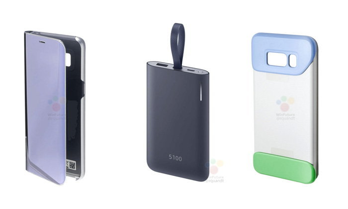 ยลโฉมอุปกรณ์เสริมของ Samsung Galaxy S8 ก่อนเปิดตัว มาครบทุกชิ้น
