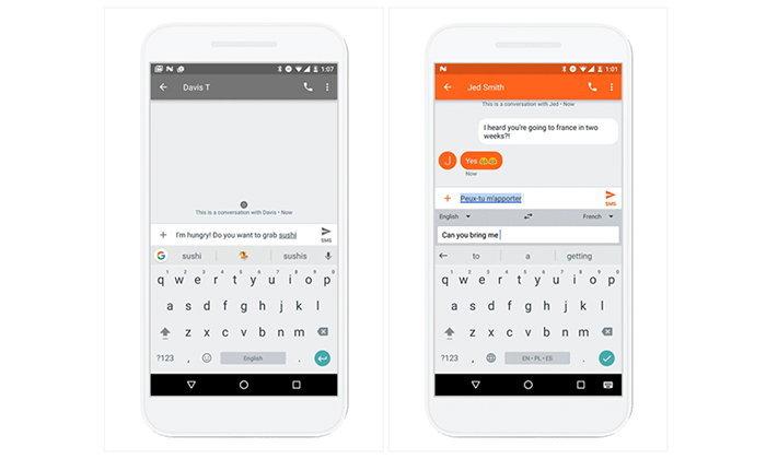 Gboard 6.1 แนะนำ emoji และ GIF ระหว่างพิมพ์, แปลภาษาที่กำลังพิมพ์ให้ทันที