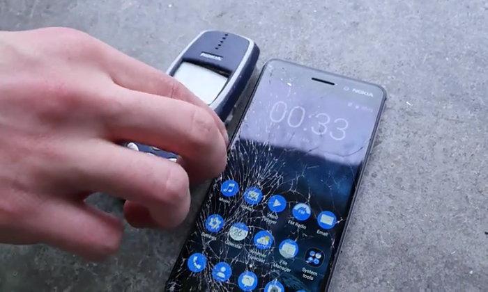 จัดหนักให้ดู DROP Test ระหว่าง Nokia 6 และ Nokia 3310