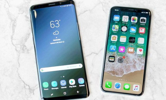 นักวิเคราะห์เผยราคา Samsung Galaxy S9 ตกเร็วกว่า iPhone X ถึง 2 เท่าตัว