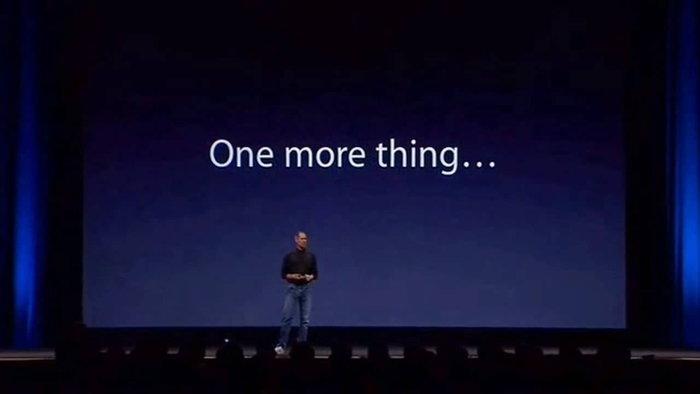 """Apple สูญเสียสุดยอดวาทะ """"One more thing"""" ไปแล้วเรียบร้อย"""