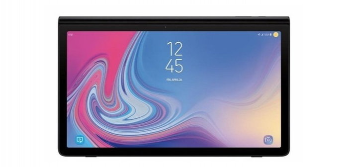 ชมภาพเรนเดอร์แท็บเล็ต Samsung Galaxy View 2 พร้อมดีไซน์บานพับแบบใหม่