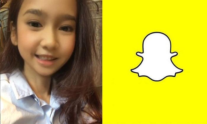 ใครไม่เล่นถือว่าเชย! เทรนด์มาแรง แต่งภาพหน้าเด็กผ่าน Snapchat