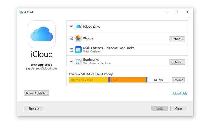 Apple ปล่อย iCloud For Windows ให้โหลดผ่าน Windows Store ได้แล้ว