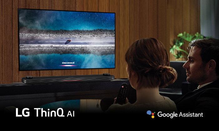 LG OLED TV ซีรี่ส์ W9 เป็นมากกว่าทีวี ดียิ่งกว่าเพื่อนรู้ใจ