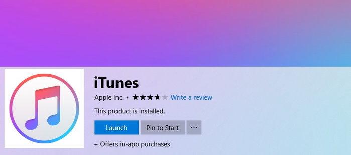 iTunes ยังคงให้บริการโปรแกรมสำหรับ Windows ต่อไป