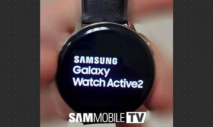 หลุดหน้าปัดของSamsung Galaxy Watch Active 2เน้นพื้นที่หน้าจอมากขึ้น