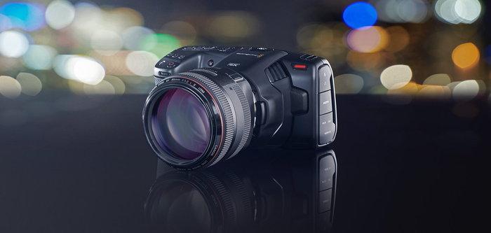 Blackmagic เปิดตัวกล้องถ่ายภาพยนตร์ขนาดพกพา Pocket Cinema Camera 6K