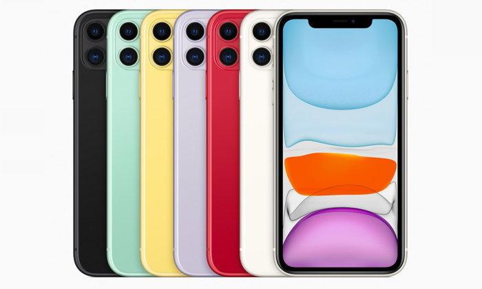 เปิดตัว iPhone 11(ไอโฟน 11) พร้อมโชว์จุดเด่นเรื่องกล้องและแบตเตอรี ในราคาเริ่มต้นเพียง 24,900 บาท