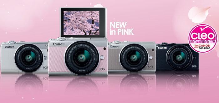 แคนนอนเผยโฉมกล้องมิเรอร์เลส EOS M100