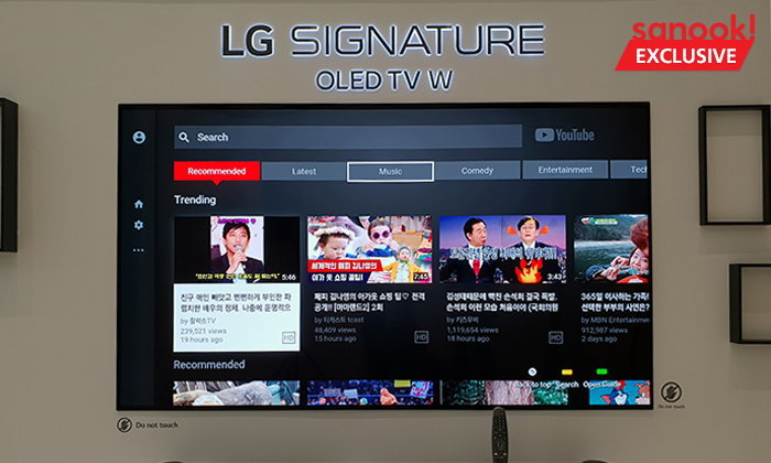 [Hands On] LG OLED TV W8 With ThinQ ทีวีที่ขอให้พูดสั่งงาน มันทำให้คุณได้