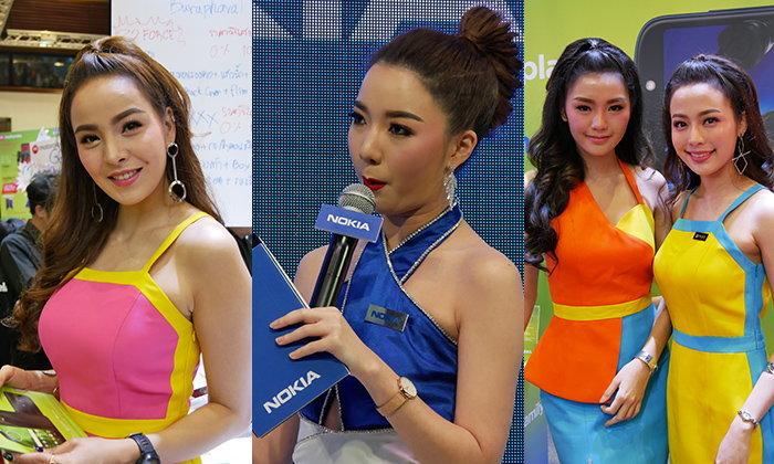 ชมภาพพริ้ตตี้สาว เด็ดๆ ที่หาชมได้ภายในงาน Thailand Mobile Expo 2018 Hi-End